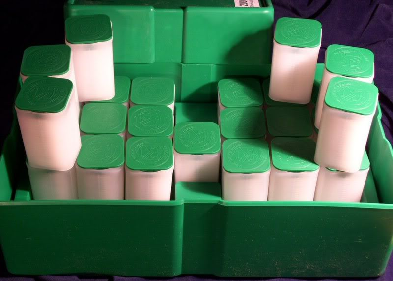 American Silver Eagle Mint Tubes in a Monster Box