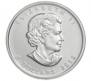 The 2012 Canadian Silver Maple Leaf