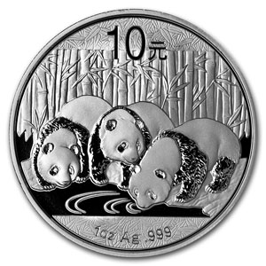 The Chinese Silver Panda