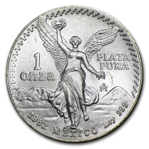 The Mexican Silver Libertad