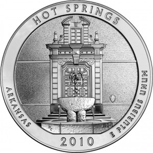 The Hot Springs National Park Coins